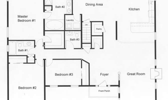 Bedroom Floor Plans Modular Home Top Approximately