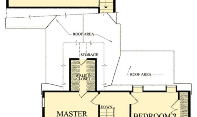 Bedroom Gambrel House Plan Architectural