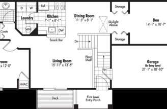 Bedroom Garage Apartment Floor Plans Harbour Ridge Apartments