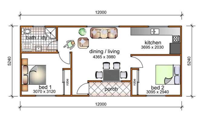 Bedroom Granny Flat Designs