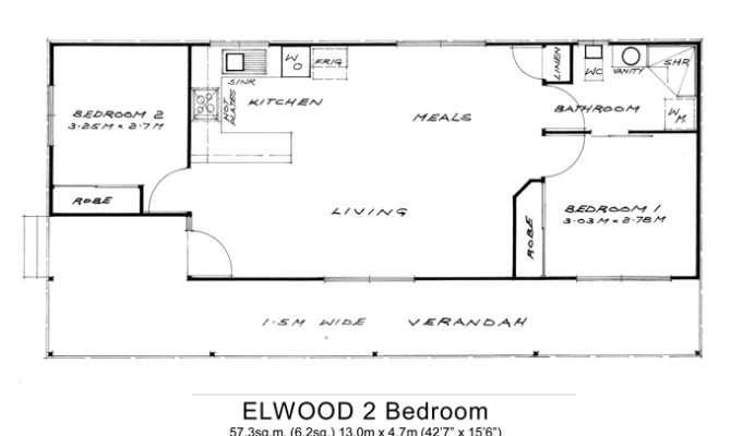 Bedroom Granny Flat Floor Plan Pin Pinterest