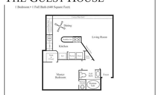 Bedroom Guest House Plans Escortsea