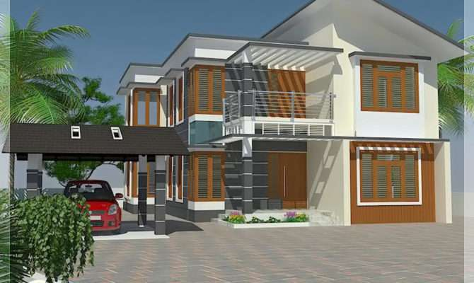 Bedroom House Elevation Floor Plan Home Appliance