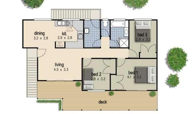 Bedroom House Floor Duplex Plans