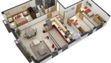 Bedroom House Floor Plans Interior Design Ideas