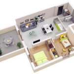 Bedroom House Plan Design Small Floor Plans