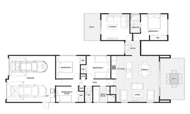 Bedroom House Plans Four Dutch Amusing