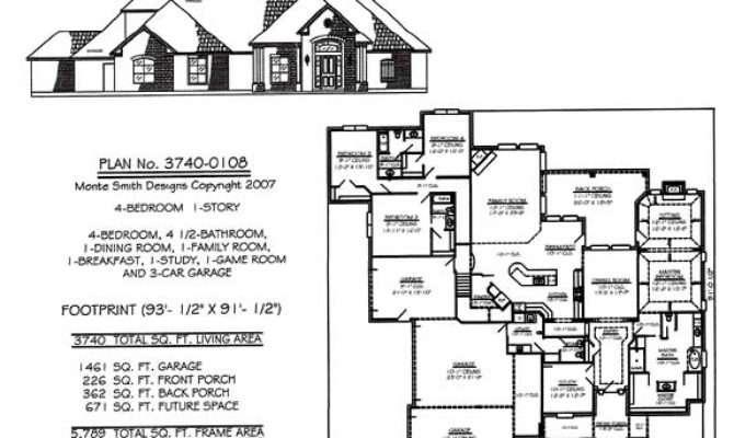 Bedroom House Plans One Story Joy Studio Design