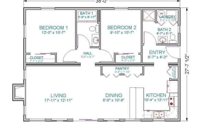 Bedroom House Plans Open Floor Plan Charming
