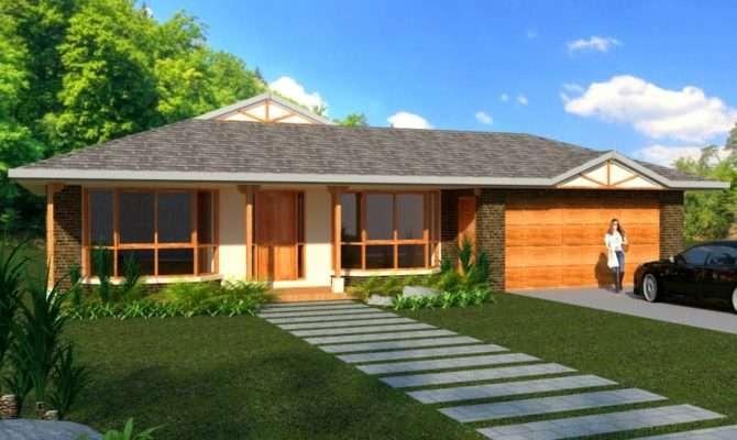 Bedroom House Plans Sale Homestead Double Garage Real Estate