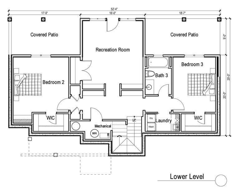 Bedroom House Plans Walkout Basement Inspirational