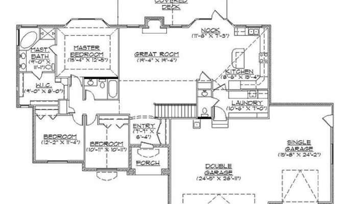 Bedroom House Plans Walkout Basement Lovely Best