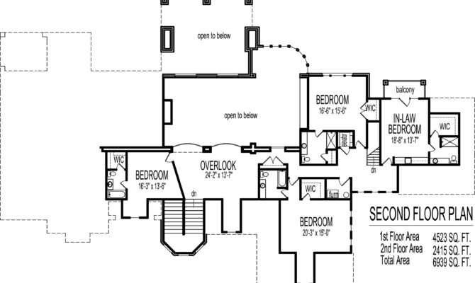 Bedroom Houseplan Main Floor