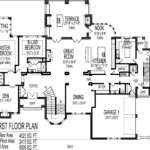 Bedroom Houseplan Main Floor