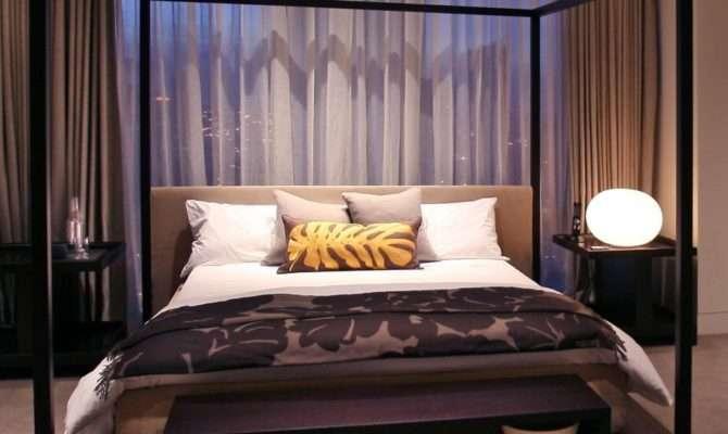 Bedroom Impressing King Canopy Bed Frame Design