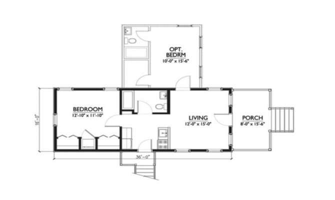 Bedroom Katrina Cottage Floor Plans Studio