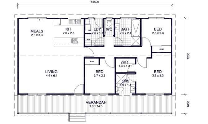 Bedroom Kit Homes