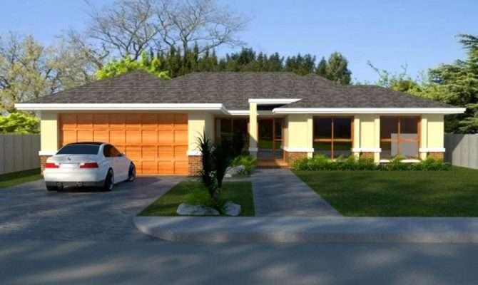 Bedroom Living Areas Double Garage House Plans Sale Ebay