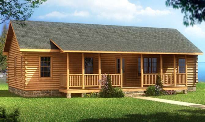 Bedroom Log Cabin Mobile Homes Ideas