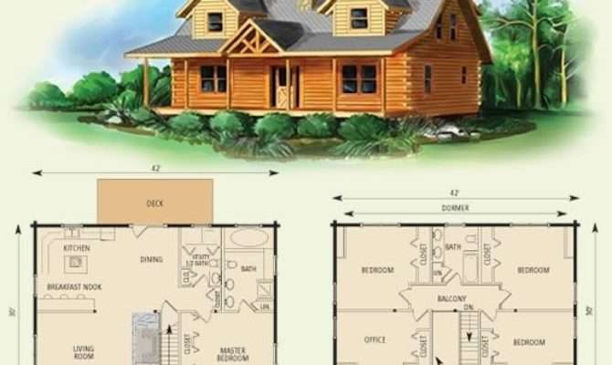 Bedroom Log Home Floor Plans Best Cabin