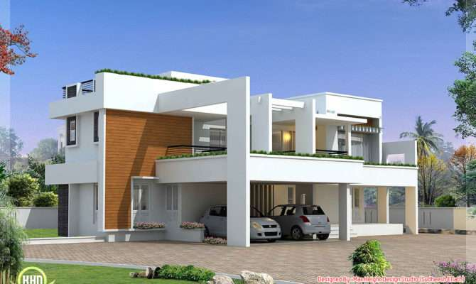 Bedroom Modern House Plans Contemporary