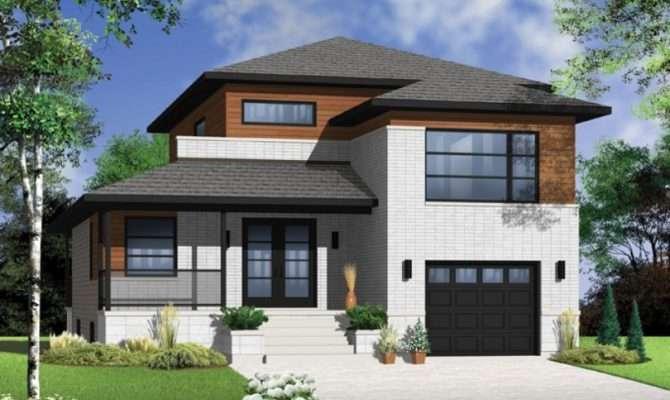 Bedroom Modern House Plans Plan