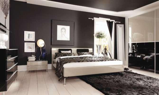 Bedroom Modern Interior Decor Hardwood Tile