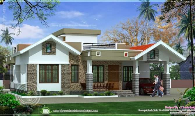 Bedroom One Floor Kerala Style Home Design Indian House Plans