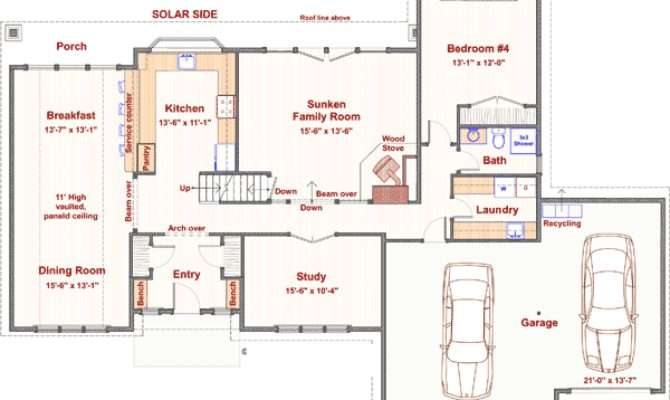 Bedroom Passive Solar Design