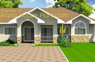 Bedroom Plan Ghana House Plans Small