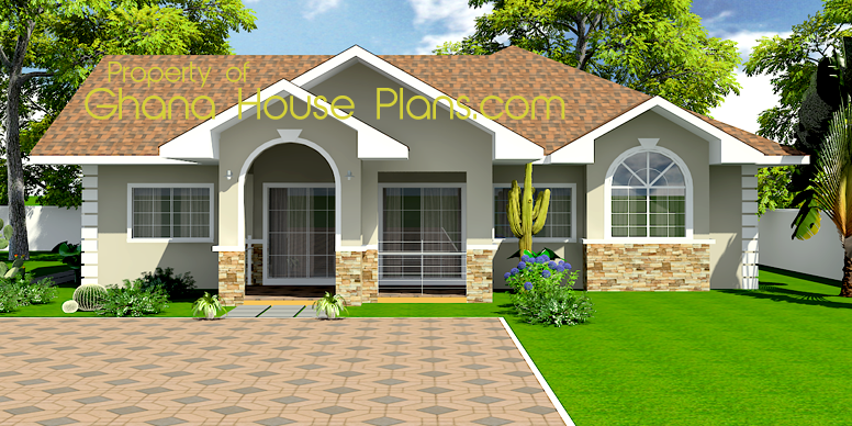 Bedroom Plan Ghana House Plans Small
