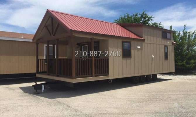 Bedroom Porch Model Cabin Loft Manufactured Homes