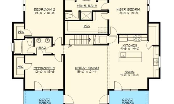 Bedroom Rambler Floor Plans Gurus
