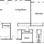 Bedroom Ranch House Floor Plans Plan