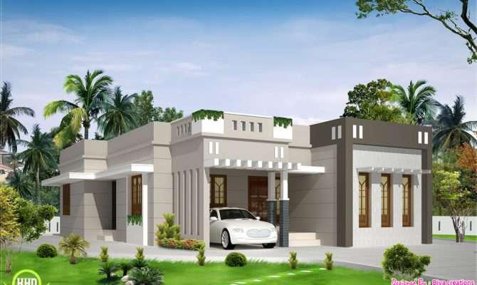 Bedroom Single Storey Budget House Kerala Home Design