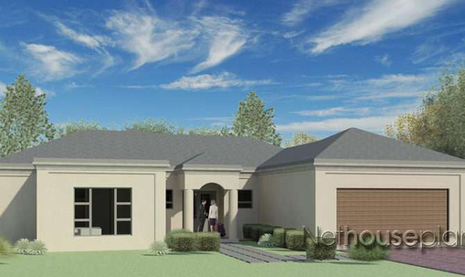 Bedroom Single Storey House Plan Building Plans