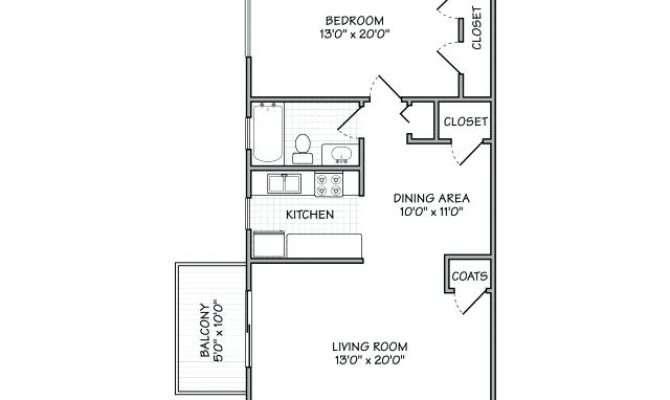 Bedroom Studio Floor Plans