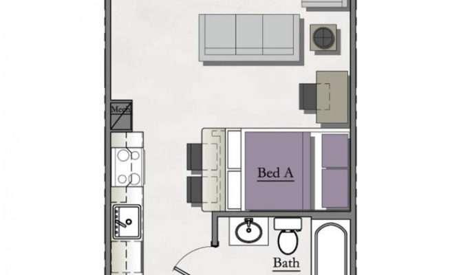 Bedroom Studio Loft Near Michigan State Hannah Lofts