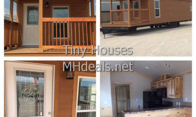 Bedroom Tiny Cabin Porch Manufactured Homes