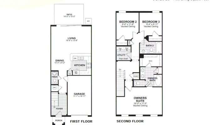 Bedroom Townhouse Floor Plans Galleryhip Hippest