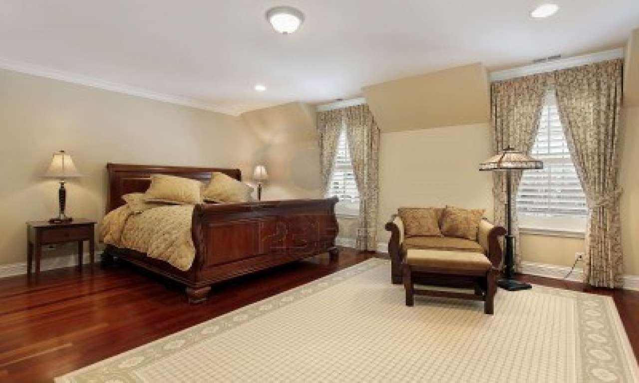 Bedroom Wood Floor Master Decorating