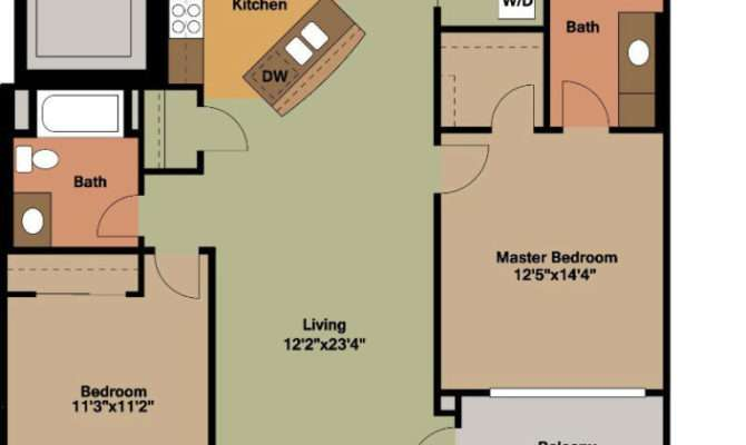 Bedrooms Floor Plans Jackson Square