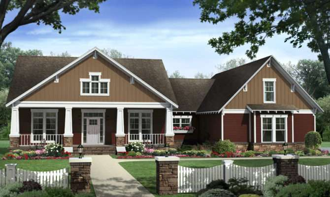 Beethoven Arts Crafts Home Plan House