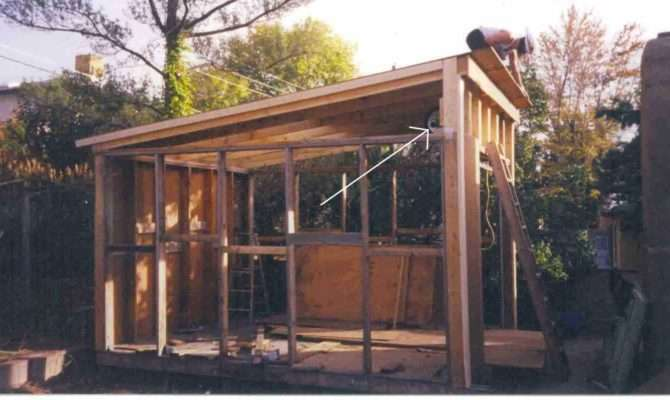 Bench Design More Shed Plans Slant Roof
