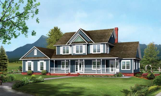 Bennington Country Farmhouse Plan House Plans More