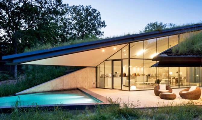 Bercy Chen Studio Green Roofed Edgeland House Transforms Former