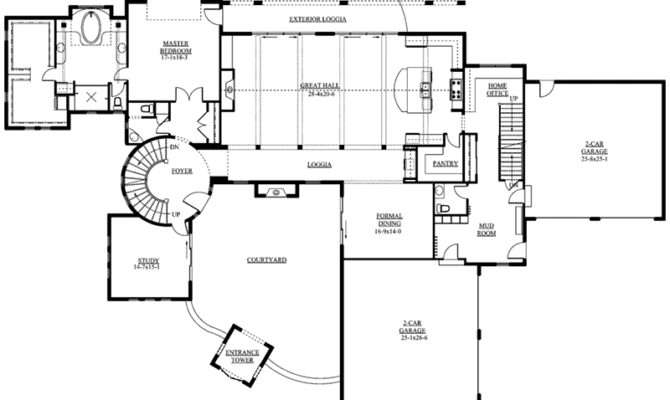 Berenzy Luxury Santa Home Plan House Plans
