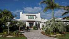Bermuda Style Waterfront Home Built Murray Homes Inc