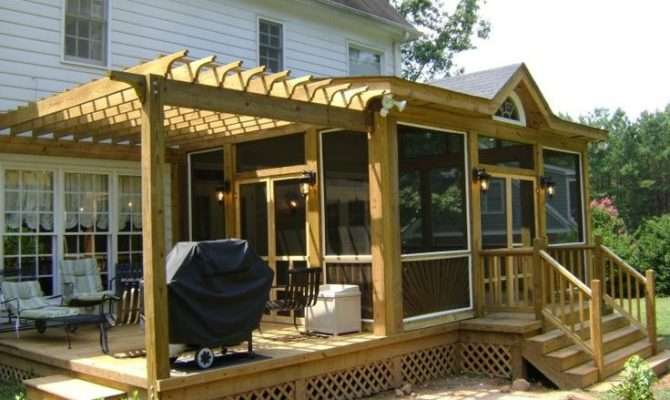 Best Deck Shade Ideas Pinterest Decks