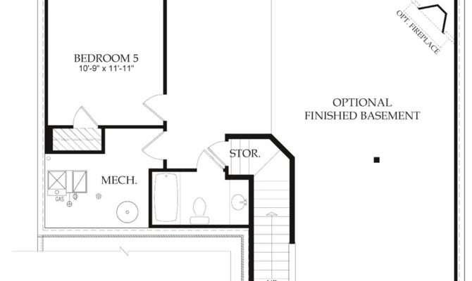 Best Elegant Finished Basement Floor Plans